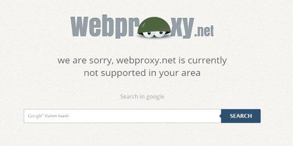 WebProxy