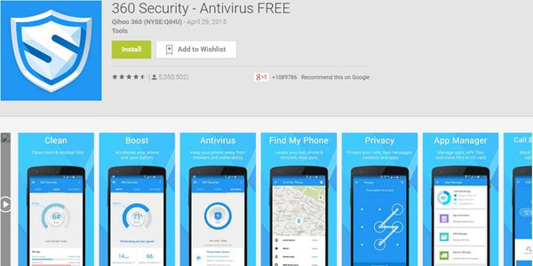 360-Security-Android-App