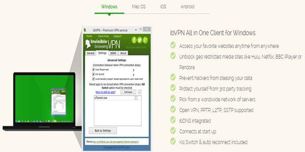 ibVPN-Features