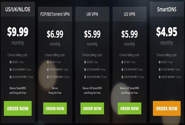 HideIPVPN-Pricing